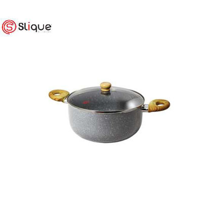 Picture of SLIQUE Marble Dutch Oven 20cm