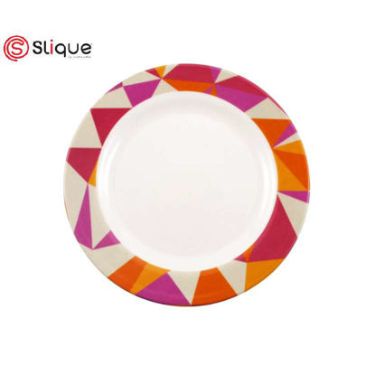 Picture of SLIQUE Melamine Round Plate 10 inches