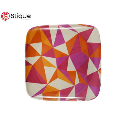 Picture of SLIQUE Melamine Square Plate 9.5 inches