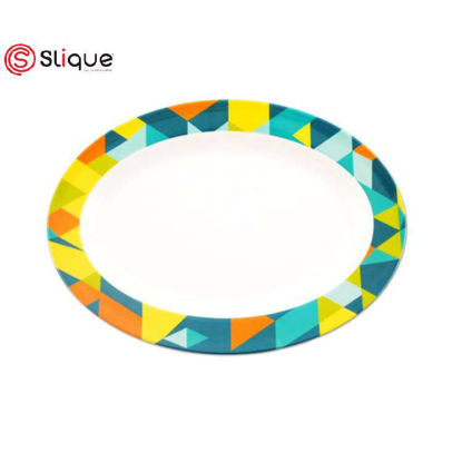 Picture of SLIQUE Oval plate 14 inches