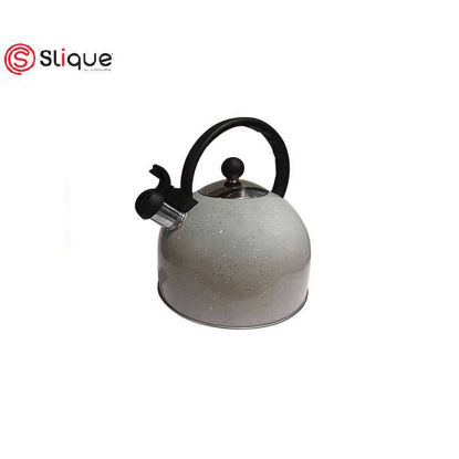 Picture of SLIQUE Whistling Kettle Marble Colored 2.5L