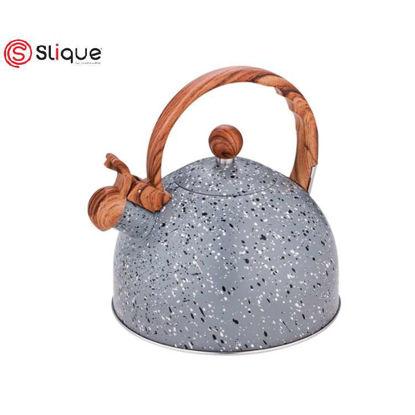 Picture of SLIQUE Granite Whistling kettle