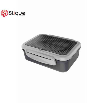 Picture of SLIQUE Stainless Lunch Box 1 L - Grey