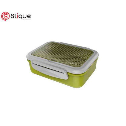 Picture of SLIQUE Stainless Lunch Box 1 L - Green
