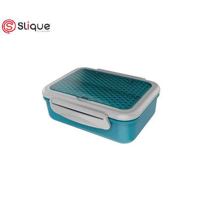 Picture of SLIQUE Stainless Lunch Box 1 L - AquaGreen