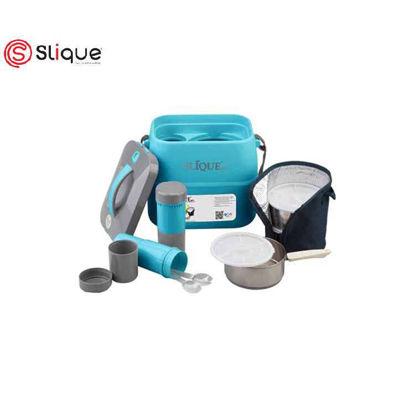 Picture of SLIQUE Lunch Box 3.6L - Aqua Green