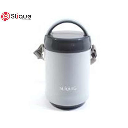Picture of SLIQUE 3 Layer Lunch Box 1.6L - Grey