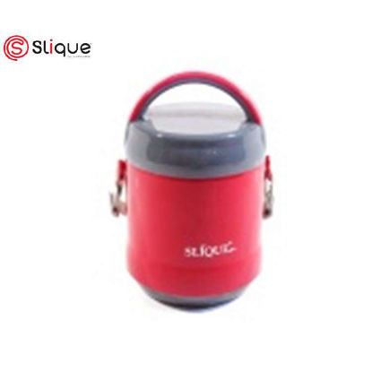 Picture of SLIQUE 2 Layer Lunch Box 1.2L - Red