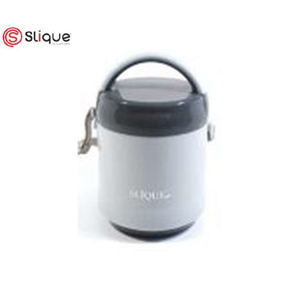 Picture of SLIQUE 2 Layer Lunch Box 1.2L - Grey