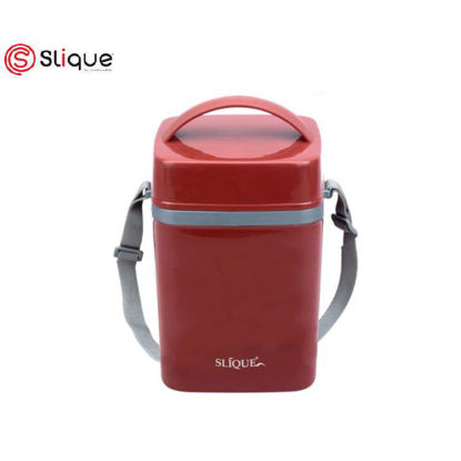 Picture of SLIQUE LUNCH BOX 2L - Red