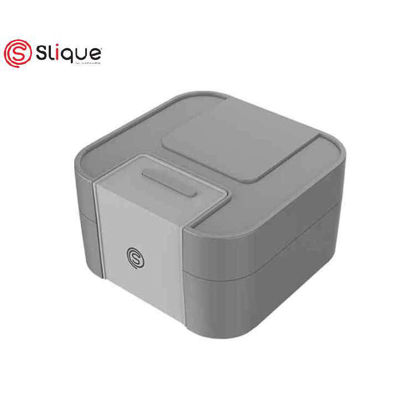 Picture of SLIQUE Bento Lunch Box 1900ml - Grey