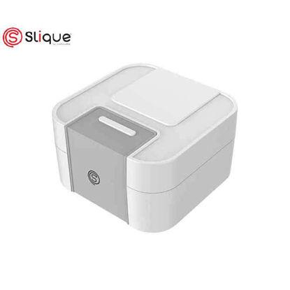 Picture of SLIQUE Bento Lunch Box 1900ml - White