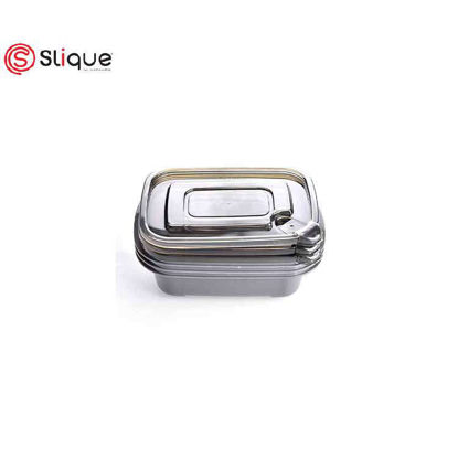 Picture of SLIQUE 3pcs Rectangle Food Crisper Set - Food Storage - Best Gift for all Occasion/ Birthday Gift