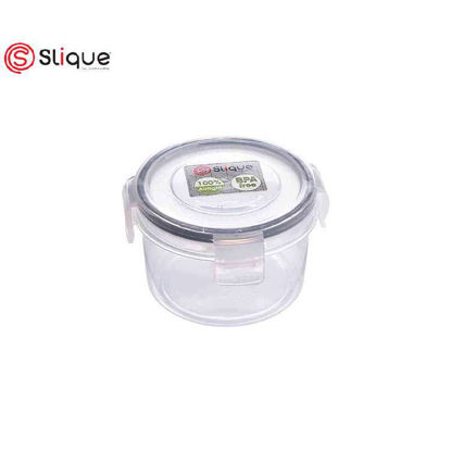 Picture of SLIQUE Round Food Container 300ml - Leak Proof - Lunch box Set - Best Gift for all Occasion/ Birthday Gift