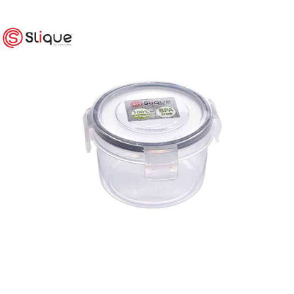 Picture of SLIQUE Round Food Container 6800ml - Leak Proof - Lunch box Set - Best Gift for all Occasion/ Birthday Gift
