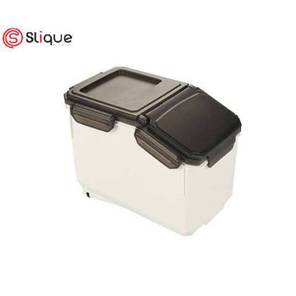 Picture of SLIQUE Rice Storage Container 6kg Airtight Rice Sealed Box with BPA Free Plastic and Insert-Proof Box, Dry Food Storage Containers- Best Birthday Gift/Anniversary Gift./Wedding Gift/Fathers Day Gift