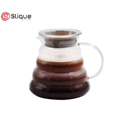 Picture of SLIQUE Premium Glass Coffee Server 500ml Amazing GIft Idea For Any Occassion!