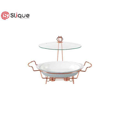Picture of SLIQUE Casserole Dish with 2 Burner 2.7L