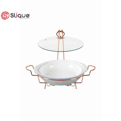Picture of SLIQUE Casserole Dish with 2 Burner 3.5L