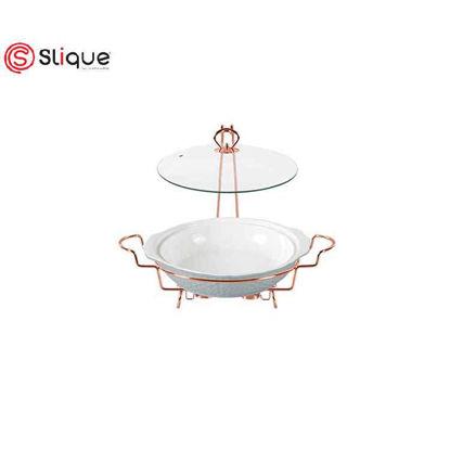 Picture of SLIQUE Casserole Dish with 2 Burner 1.9L
