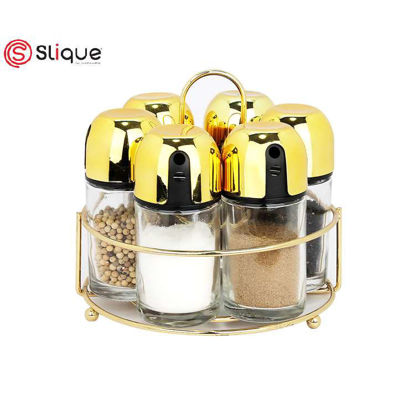 Picture of Signature by SLIQUE Spice Jar set of 6pcs