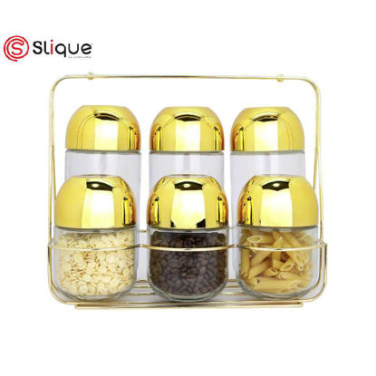 Picture of Signature by SLIQUE Storage set of 6pcs Jar