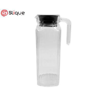 Picture of SLIQUE Glass Pitcher 1L - Black