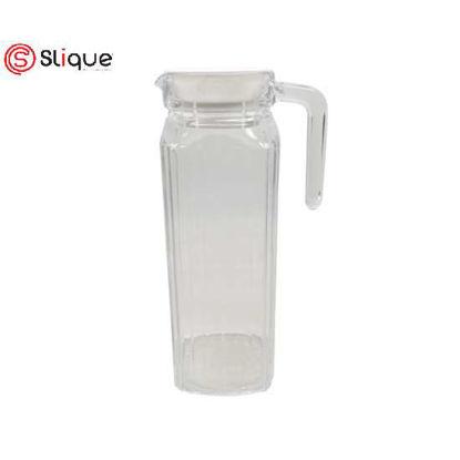 Picture of SLIQUE Glass Pitcher 1L - White