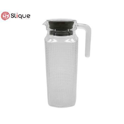 Picture of SLIQUE Glass Pitcher 1000ml - Black
