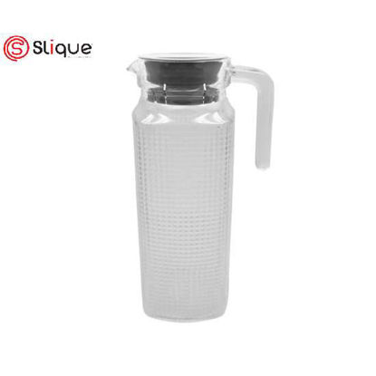 Picture of SLIQUE Glass Pitcher 1000ml - Grey