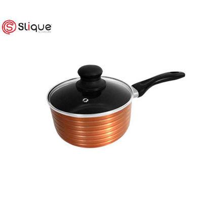 Picture of SLIQUE Induction Copper Saucepan 18cm