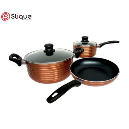 Picture of SLIQUE Copper cookware 5pc set