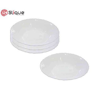 Picture of SLIQUE Opal Shallow Bowl Set of 4
