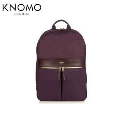 Picture of Knomo Beauchamp 14 Backpack - Aubergine