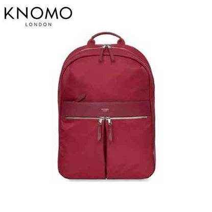 "Picture of Knomo Beauchamp 14"" Backpack - Cherry"