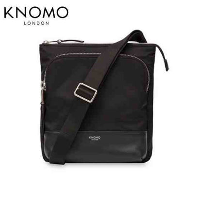 "Picture of Knomo Carrington 10"" Crossbody - Black"