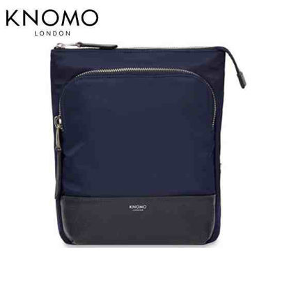 "Picture of Knomo Carrington 10"" Crossbody - Dark Navy"
