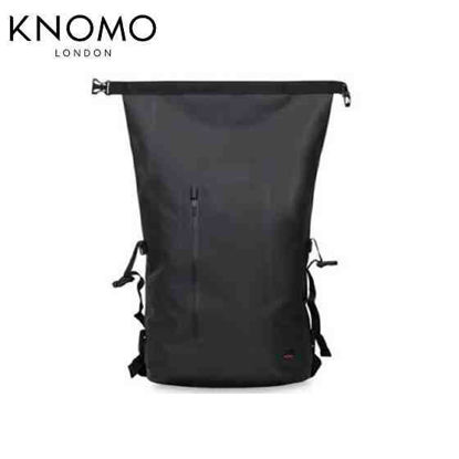 Picture of Knomo Cromwell Top Zip Backpack - Black