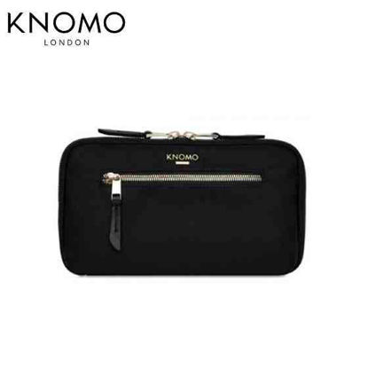 Picture of Knomo Mayfair Travel Wallet - Black