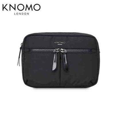 Picture of Knomo Palermo Convertible Crossbody - Black