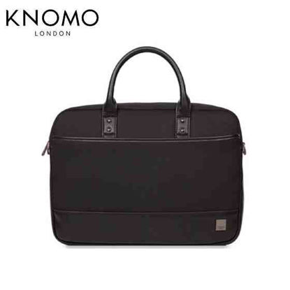 "Picture of Knomo Princeton 15"" Laptop Toploader - Black"