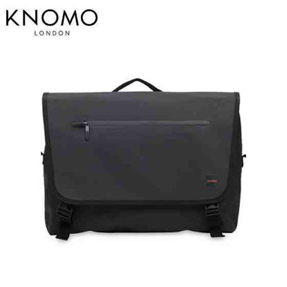 "Picture of Knomo Rupert 14"" Laptop Messenger - Black"