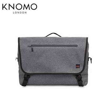 "Picture of Knomo Rupert 14"" Laptop Messenger - Grey"