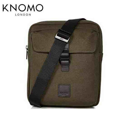 "Picture of Knomo Tilton 10.5"" Crossbody Bag - Green"