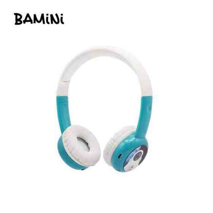 Picture of Bamini Study Wired Headphones - Blue