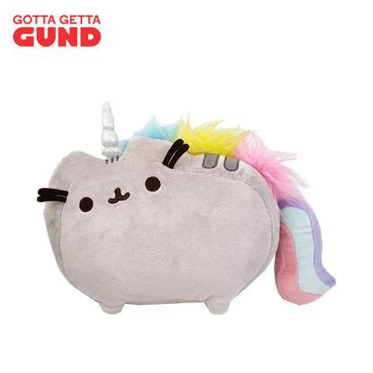 """Picture of GUND Pusheenicorn Stuffed Pusheen Plush Unicorn, 13""""L"""