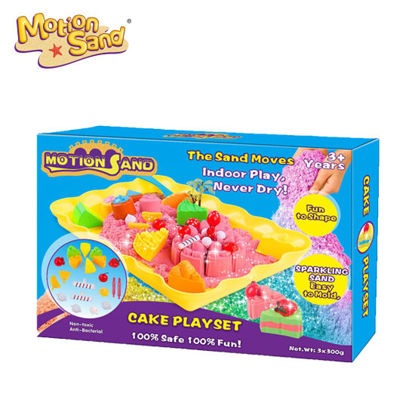 Picture of Motion Sand Cake Playset