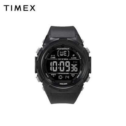 Picture of Timex Marathon Black Rubber Watch For Men TW5M22300 SPORTS