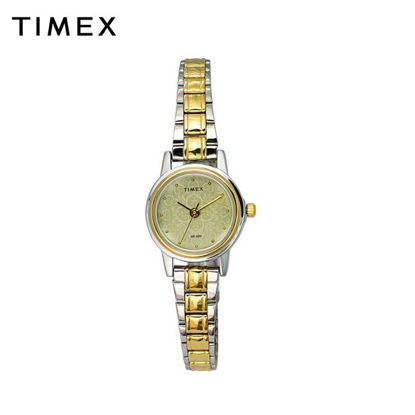 Picture of Timex Ladies Two Tone Brass Watch TW00CS15E