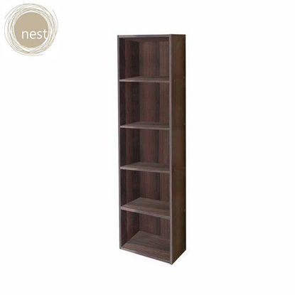 Picture of NEST DESIGN LAB HIGH CABINET 5 LAYER- Wenge